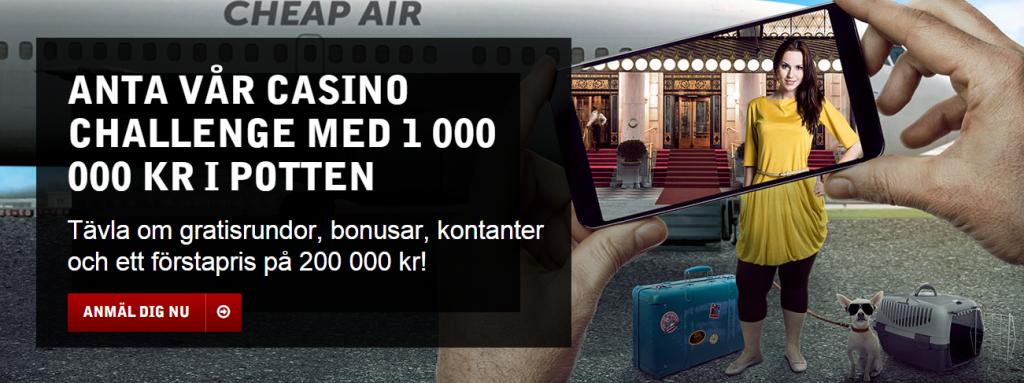 Casino Challenge med BetSafe